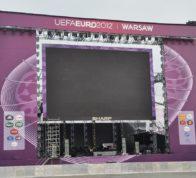Scena Euro 2012 w Warszawie