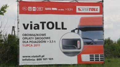 Baner reklamowy viaTOLL