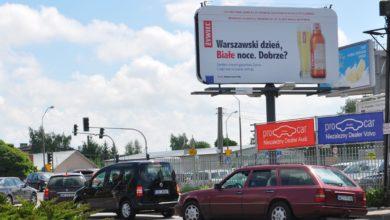 Billboard przy ulicy